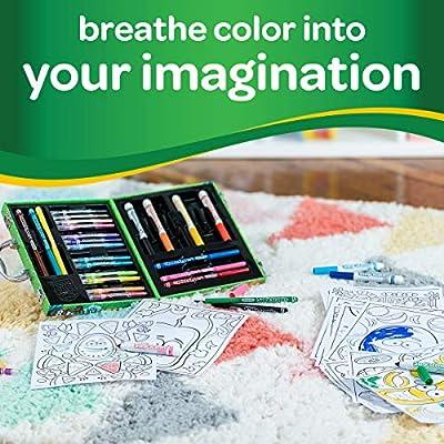 Crayola-04-0015 Silly Scents Mini Art Kit, Caja Artística de Rotuladores y Lápices Perfumados, Multicolor (04-0015): Amazon.es: Juguetes y juegos