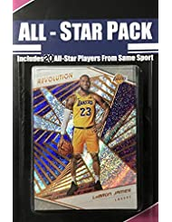 2018 2019 Panini Revolution Series NBA All Stars Special Edition Factory Sealed 20 Card Set with Lebron James of The Lakers and Stephen Curry and Kevin Durant of The Warriors Plus 17 Other Superstars