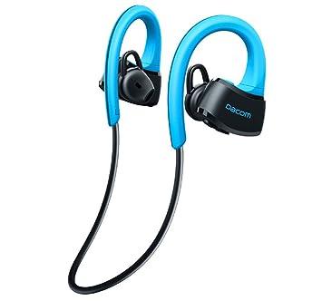 Auriculares Inalámbricos A Prueba De Agua Bluetooth, IPX7 Impermeable,Seguro De Ajuste De Auriculares