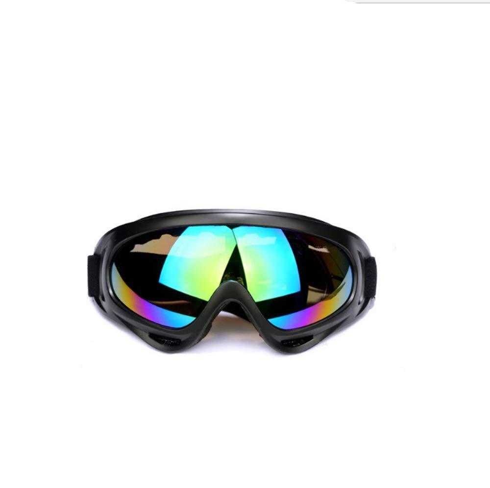 Y-YT Gafas de Deporte Ventilador de Gafas de Montar Motos Deportivas protección Anti-Viento Exterior Gafas de esquí de Equipo táctico