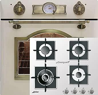 Novedad Cocina de gas Juego Autark Kaiser/Instalación Gas Horno ...