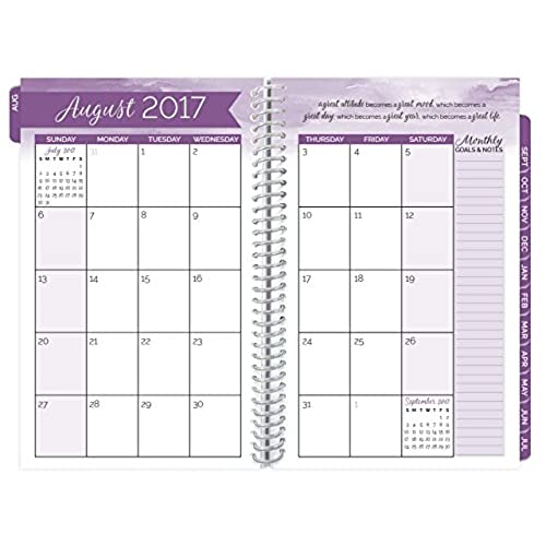 Bloom Daily Planners 2017 18 Academic Year Daily Planner Passion
