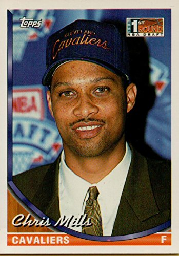 Cleveland Cavaliers Rookie Basketball - Basketball NBA 1993-94 Topps #148 Chris Mills RC Rookie Cavaliers
