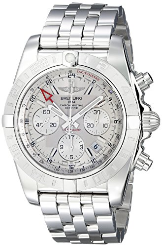 Breitling Men's AB042011-G745 Silver-Tone Stainless Steel Wa