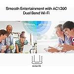 TP-Link Archer C6 Gigabit MU-MIMO Wireless Router, Dual Band 1200 Mbps Wi-Fi Speed, 5 Gigabit Ports, 4 External Antennas…