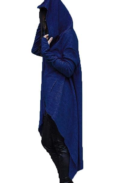 Sudaderas Otoño Invierno Mujer Elegantes Moda Sudadera Plus Size Vestidos Colores Sólidos Modernas Casual Largos Streetwear Swag Hoodie Alto Bajo Irregular ...