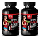 fat loss pills for men - EXTREME 15-DAY CLEANSE - 1180MG FORMULA - flax seed pills - 2 Bottles (60 Capsules)