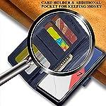 TheGiftKart Dual-Color Leather Finish iQOO 7 Legend 5G Flip Back Cover | Inside Pockets & Inbuilt Stand | Wallet Style…