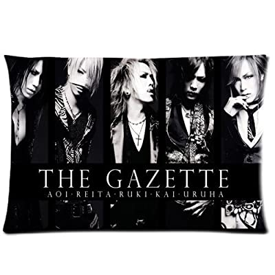 Bedroom Decor Custom The Gazette 2013 Jrock Pillowcase Rrctangle Zippered Two Sides Design Printed 20x26 pillows Throw Pillow Cover Cushion Case Covers