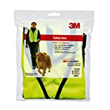 3M 94601-80030T Protection Reflective Day/Night Safety Vest, Yellow
