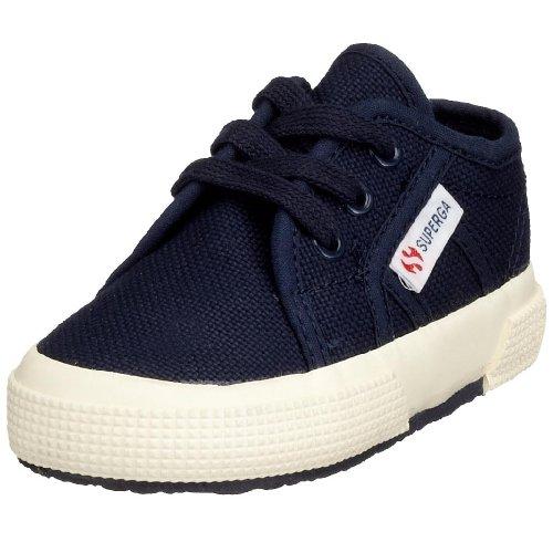 Superga 2750 Bebj Baby Classic - Zapatillas de deporte de tela para niños Azul