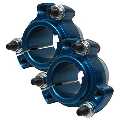 Set of 2 - Blue Rear Wheel Hub 1 1/4'' Bearing Racing Go Kart Cart Drift Trike by BMI Karts