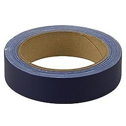 Bookguard Premium Cloth Book Tape-Blue-1\'W x 15yds.L