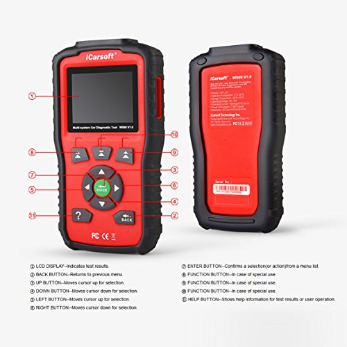 iCarsoft Auto Diagnostic Scanner W500 V1.0 for Audi/VW/Seat/Skoda with ABS Scan,Oil Service Reset ect by iCarsoft (Image #1)