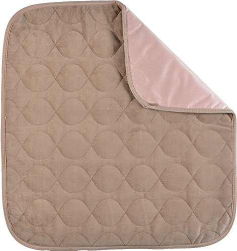 NOVA Waterproof Reusable Underpad for Chair, Seat, Furniture or Bed with Velour Soft Top Layer, Washable Incontinence Seat & Surface Overlay, Super Absorbent, 22