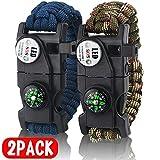 Best Survival Bracelets - IMPHOM Survival Bracelet Paracord Military Buckle Tool Adjustable Review