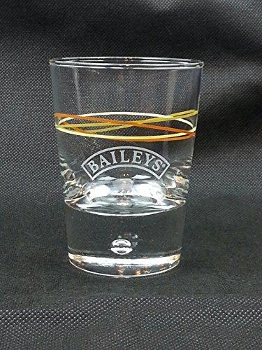 (Bailey's Irish Cream Tumbler Glass - Colored Swirls)