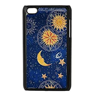 T-TGL(RQ) Ipod Touch 4 Customized Phone Case Sun Moon Pattern with Hard Shell Protection