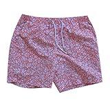 NUWFOR Baby Boys Swimwear Running Surfing Sports Beach Shorts Trunks Board Pants(Pink-Kid,3-4Years)