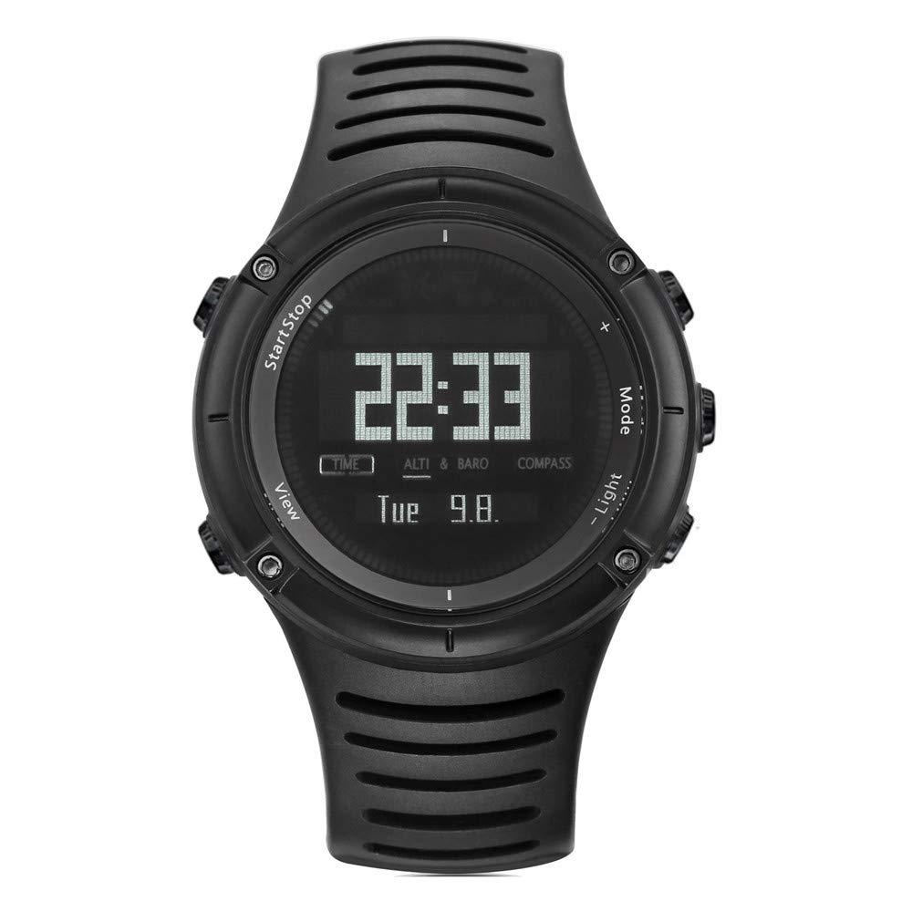 WWGG Reloj Inteligente Montañismo Reloj Luminoso Impermeable ...