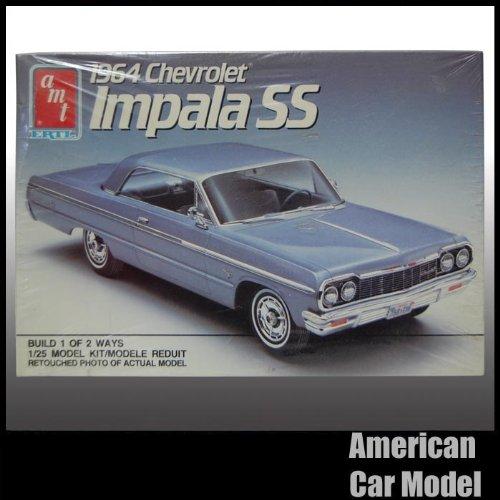 64 Chevrolet Impala SS 89年製 初版 1964 シボレー インパラ AMT 6564 1:25スケール chevy シェビー プラモデル [並行輸入品]