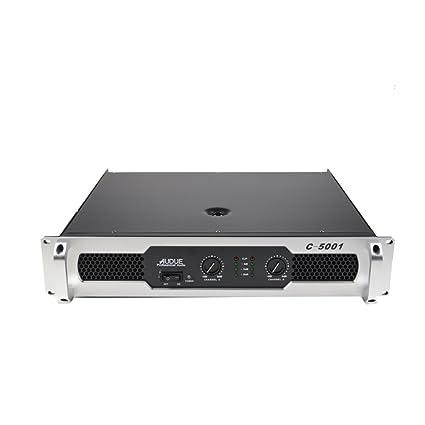 AUDUE Serie C Buen Sonido Profesional 2 Canales Inicio Etapa KTV amplificador de energía C-