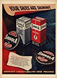 Your shoes are showing! Shinola Shoe Polish ad 1948 L