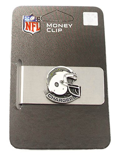 (NFL Sculpted & Enameled Pewter Moneyclip - San Diego Chargers)