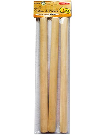 Palos de manualidades de madera Lollipop Lolly natural Piruletas Ice Pops Niños Color 120Pcs