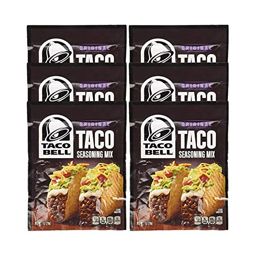 - Taco Bell Taco Seasoning Mix 1oz (6 Packets)