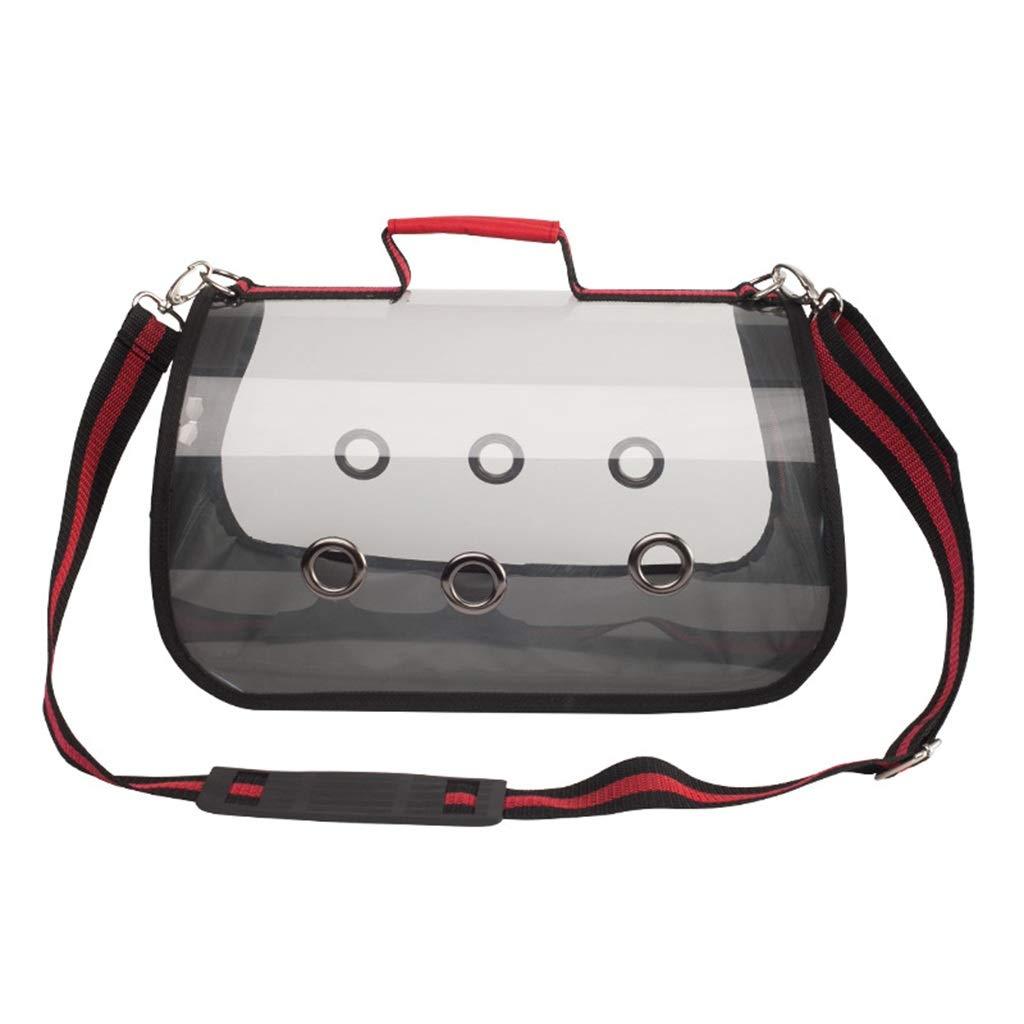 L-XFLX Portable transparent pet bag cat dog shoulder bag Pet out bag portable backpack pet supplies