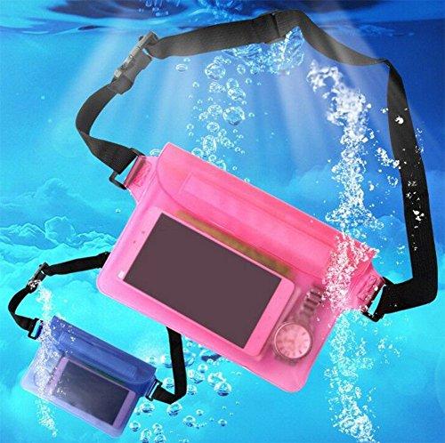 Hosaire Wasserdichte Tasche Mode Dichtung Strand-Aufbewahrungs Tasche Perfekt Handyhülle Schutzhülle für Strand,Segeln,Schwimmen,Bootfahren,Angeln Grun