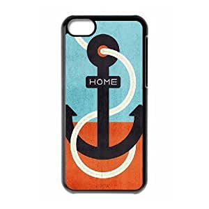 linJUN FENGProtection Cover Hard Case Of Anchor Cell phone Case For iphone 5/5s