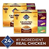 Nature's Recipe Grain Free Variety Pack, Wet Dog Food, 2.75 Ounce (Pack Of 24)