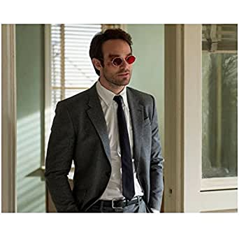 Daredevil Charlie Cox as Matt Murdock Wearing Glasses 8 x