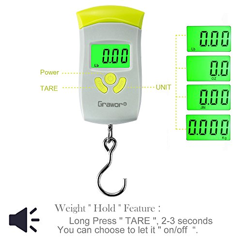 Top 10 best fish weighing scales digital best of 2018 for Mlf fishing scale