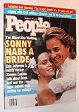 People Magazine, 23 November 1987 - Don Johnson and Sheena Easton Cover - the Miami Vice Wedding