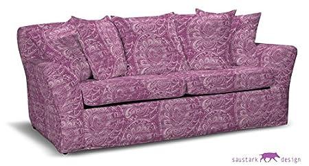 Saustark Design saustark design edinburgh cover for ikea tomelilla sofa bed pink
