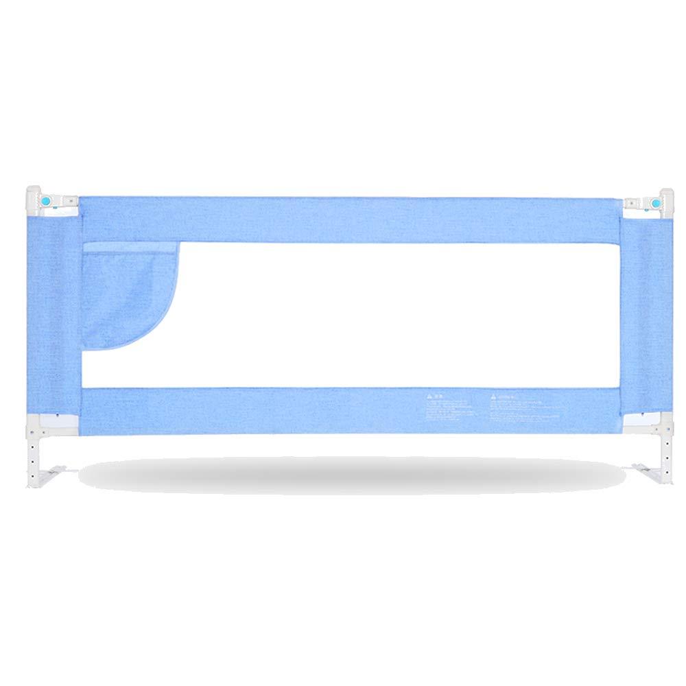 XIAOMEI,安全フェンス 垂直リフティングチャイルドベッドガードレール、ベッドサイドバッフル調節可能な高さ68-80CM-3カラー-1.5 / 1.8 / 2.0M ベッドの手すり (色 : C, サイズ さいず : 200cm) 200cm C B07L8GJ9V4