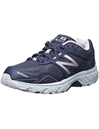 Women's 510v4 Cushioning Trail Running Shoe, Navy, 7 B US