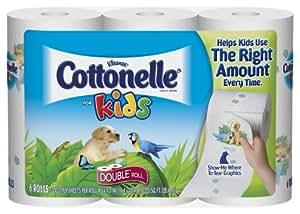Amazon Com Kleenex Cottonelle For Kids Toilet Paper