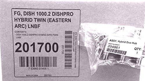 DISH 1000.2 hybrid twin DISHPRO (eastern arc) LNBF + Hybrid Duo Hub 201700 by Dish Network