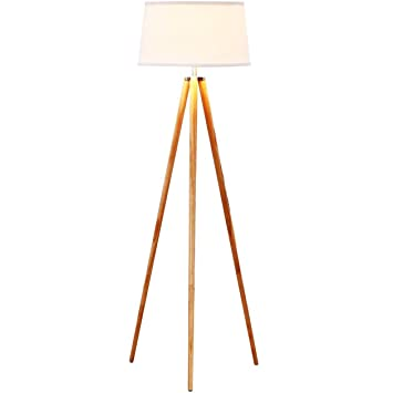 wooden tripod floor lamp amazon spotlight giant dark wood classic design contemporary traditional living rooms