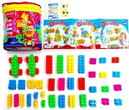 Nabhya Happy Home PVC Packing Building Blocks Early Learning Educational Toy for Kids Age 2 to 5  Brick Block Sr