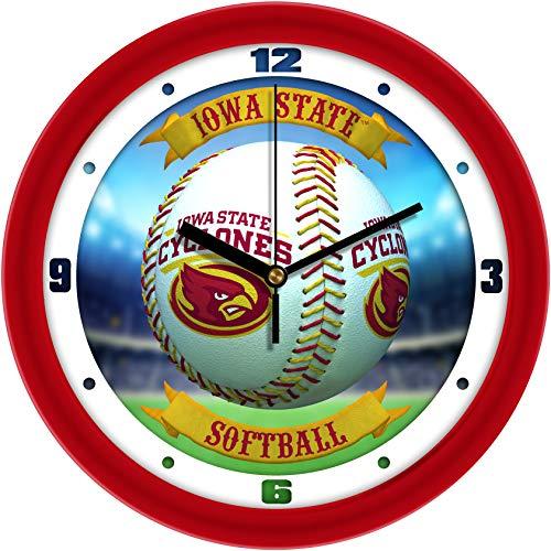 Iowa State Cyclones - Home Run Wall - Wall Cyclones State Iowa Clock