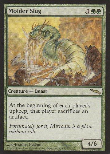 Molder Slug (Magic the Gathering : Mirrodin #125 Rare)