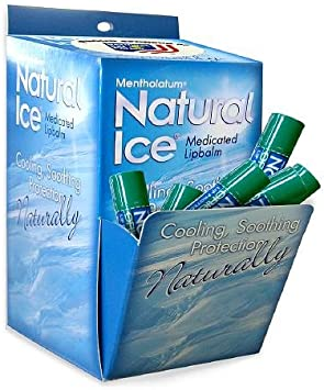 Natural Ice Medicated Lip Protectant Sunscreen SPF 15, Original 48 ea