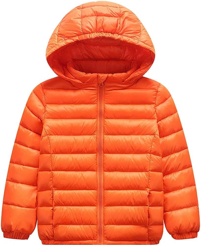 Suncaya Piumino Bambina Invernale Giacca Bambina Piumino Lungo Cappotto per Bambini