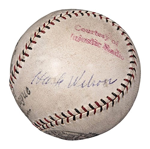 Hack Wilson Autographed Ball - Beautiful 1932 Chicago, used for sale  Delivered anywhere in USA