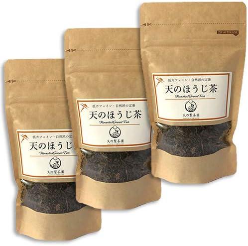 天の製茶園 天のほうじ茶 リーフ 40g×3袋 無農薬 無化学肥料栽培